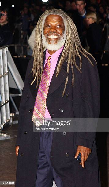 Singer Billy Ocean arrives at the British premiere of Britney Spears'' debut film 'Crossroads' March 25 2002 in London