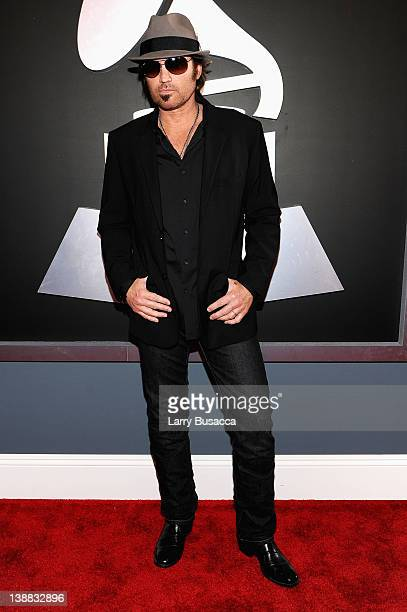 Singer Billy Ray Cyrus arrives at the 54th Annual GRAMMY Awards held at Staples Center on February 12 2012 in Los Angeles California