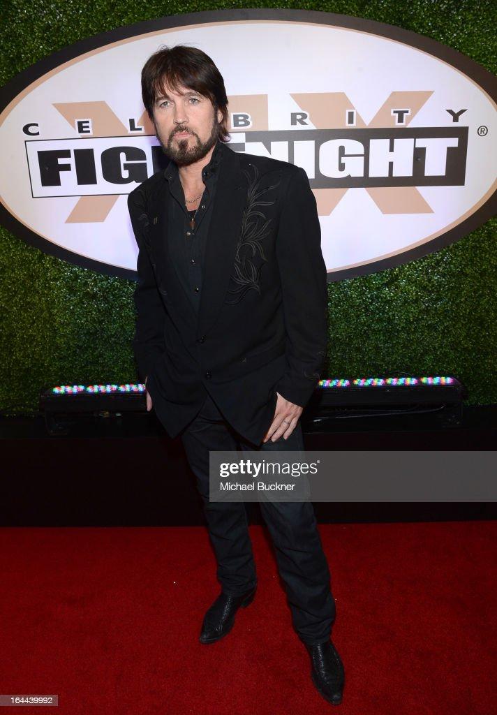 Singer Billy Ray Cyrus attends Muhammad Ali's Celebrity Fight Night XIX at JW Marriott Desert Ridge Resort & Spa on March 23, 2013 in Phoenix, Arizona.