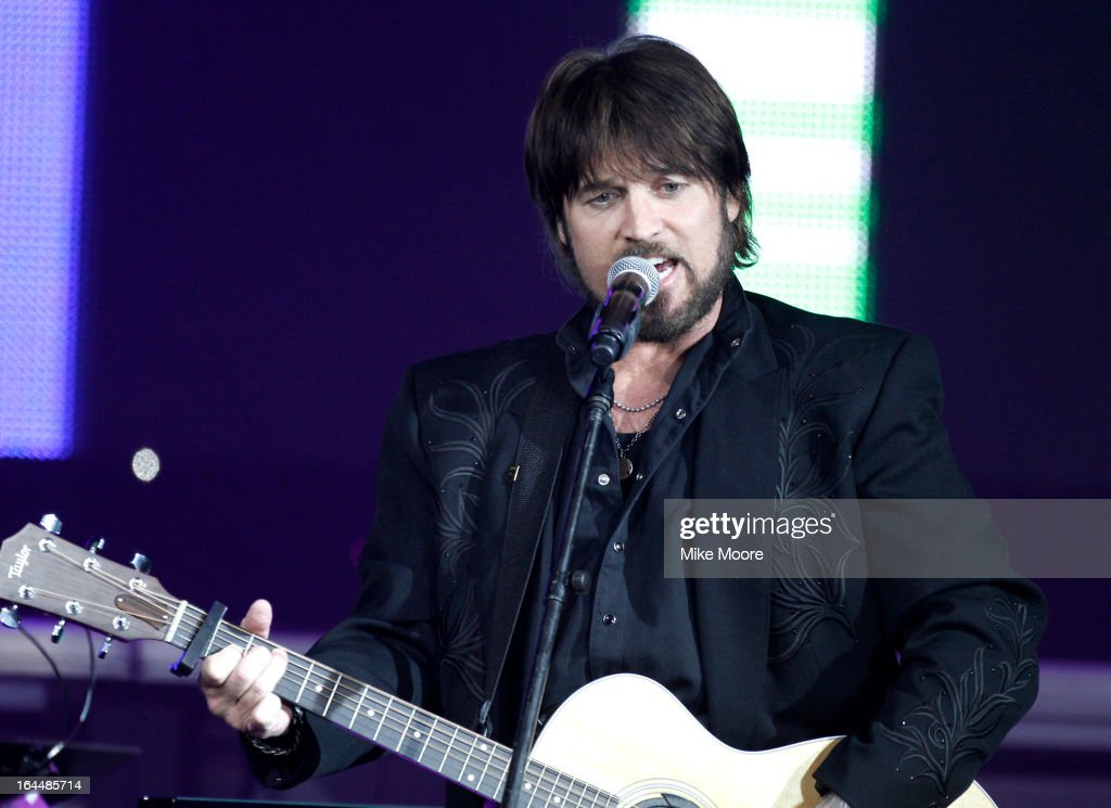 Singer <a gi-track='captionPersonalityLinkClicked' href=/galleries/search?phrase=Billy+Ray+Cyrus&family=editorial&specificpeople=213601 ng-click='$event.stopPropagation()'>Billy Ray Cyrus</a> attends Muhammad Ali's Celebrity Fight Night XIX at JW Marriott Desert Ridge Resort & Spa on March 23, 2013 in Phoenix, Arizona.