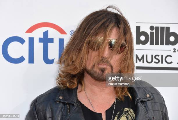 Singer Billy Ray Cyrus attends the 2014 Billboard Music Awards at the MGM Grand Garden Arena on May 18 2014 in Las Vegas Nevada