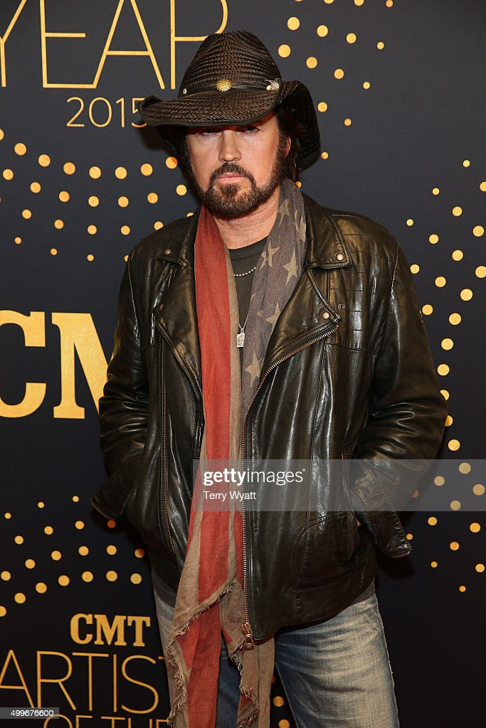 Singer Billy Ray Cyrus attends the 2015 'CMT Artists of the Year'at Schermerhorn Symphony Center on December 2, 2015 in Nashville, Tennessee.