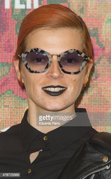 Singer Bimba Bose attends MAC new trends party photocall at the Association of Architects on June 11 2015 in Madrid Spain