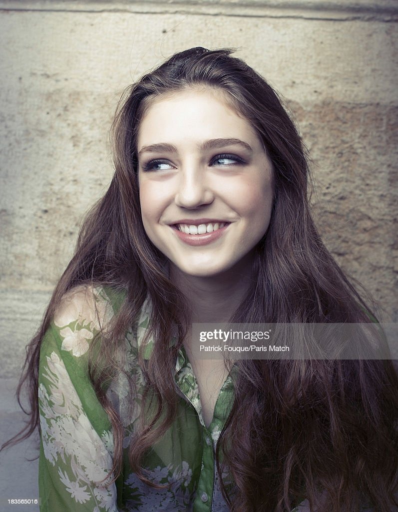 Singer Birdy is photographed for Paris Match on September 5, 2013 in Paris, France.