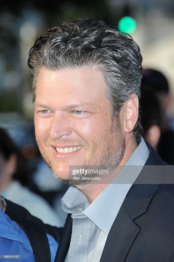 Singer Blake Shelton attends NBC's 'The Voice' Red Carpet Event at The Sayers Club on April 3, 2014 in Hollywood, California.