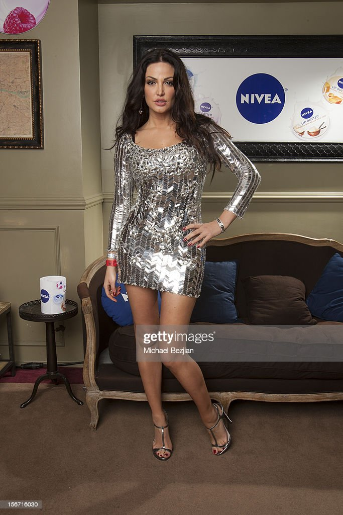 Singer Bleona Qereti attends Interscope Records AMA After Party Hosted By NIVEA Lip Butters & Ciroc Ultra Premium Vodka Portraits Inside on November 18, 2012 in Los Angeles, California.