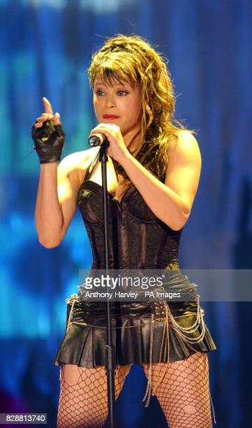 Singer Blu Cantrell performs live on stage during the 15th World Music Awards at the Monte Carlo Sporting Club in Monaco The annual awards are held...