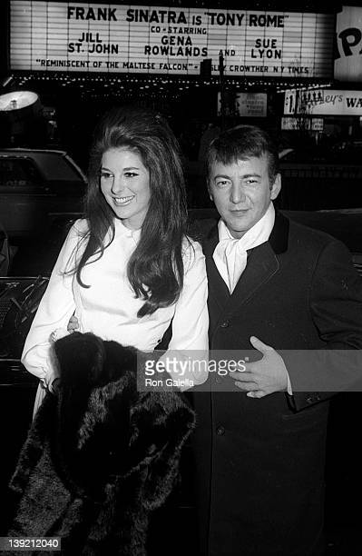 Singer Bobby and Bobbie Gentry attend the premiere of 'Dr Dolittle' on December 16 1967 at Loew's State Theater in New York City