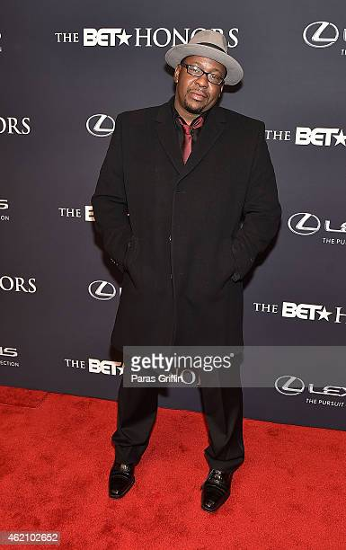 Singer Bobby Brown attend 'The BET Honors' 2015 at Warner Theatre on January 24 2015 in Washington DC