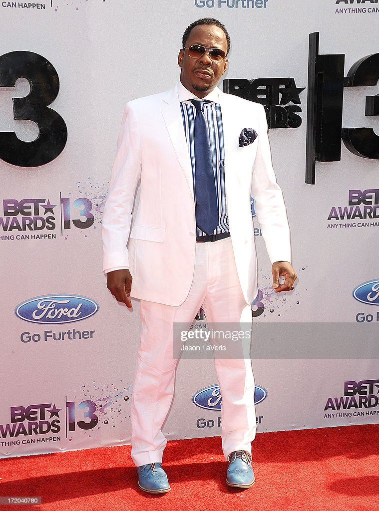 Singer Bobby Brown attends the 2013 BET Awards at Nokia Theatre L.A. Live on June 30, 2013 in Los Angeles, California.