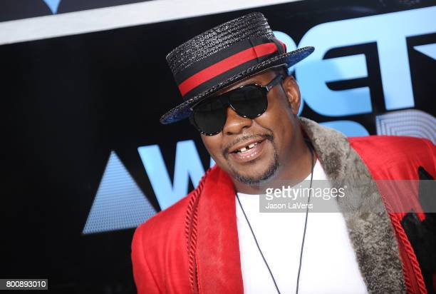 Singer Bobby Brown attends the 2017 BET Awards at Microsoft Theater on June 25 2017 in Los Angeles California