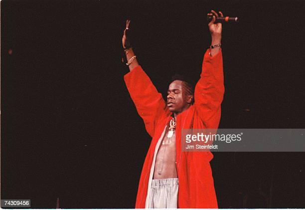 RB singer Bobby Brown performs in 1989 in Minneapolis Minnesota