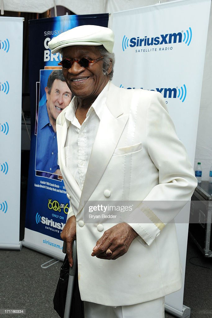 Singer Bobby Lewis attends the Cousin Brucie's First Annual Palisades Park Reunion presented by SiriusXM on June 22, 2013 in East Rutherford, New Jersey.