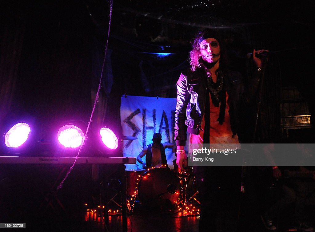 Singer Bobby Shafto of the band SHAFTO performs in concert on October 30, 2013 at Club Moscow in Hollywood, California.