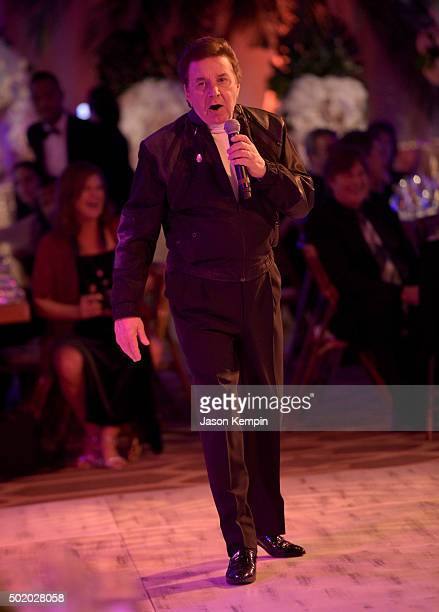 Singer Bobby Sherman performs during the Brigitte and Bobby Sherman Children's Foundation's 6th Annual Christmas Gala and Fundraiser at Montage...