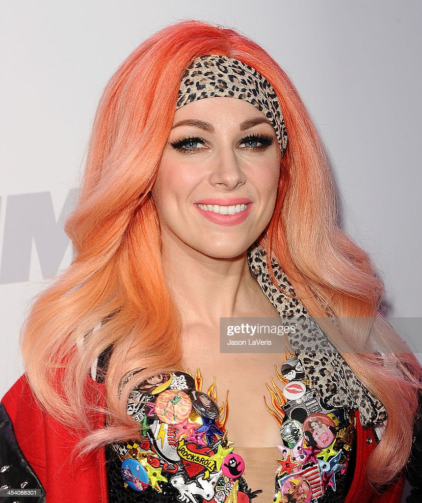 Singer Bonnie McKee attends KIIS FM's Jingle Ball at Staples Center on December 6 2013 in Los Angeles California