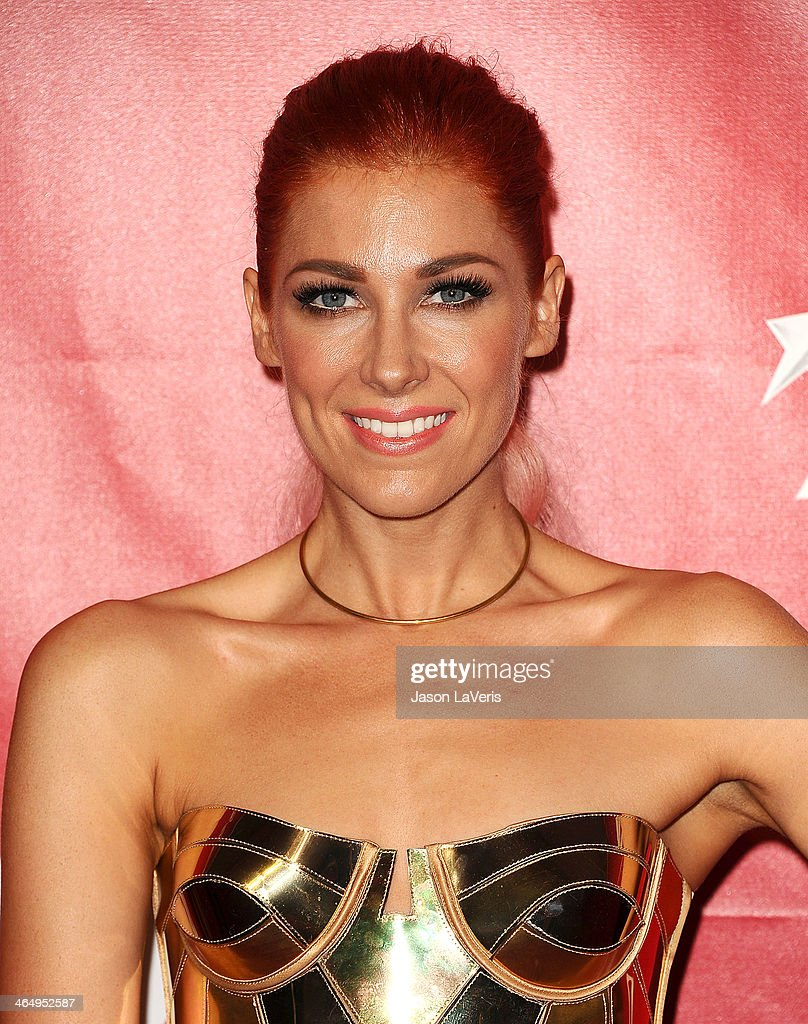 Singer Bonnie McKee attends the 2014 MusiCares Person of the Year honoring Carole King at Los Angeles Convention Center on January 24, 2014 in Los Angeles, California.