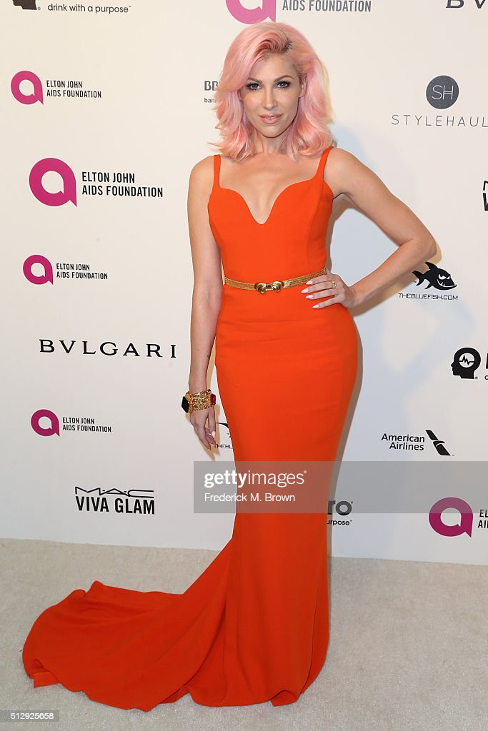 Singer Bonnie McKee attends the 24th Annual Elton John AIDS Foundation's Oscar Viewing Party on February 28 2016 in West Hollywood California