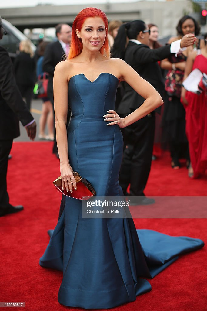 Singer Bonnie McKee attends the 56th GRAMMY Awards at Staples Center on January 26, 2014 in Los Angeles, California.