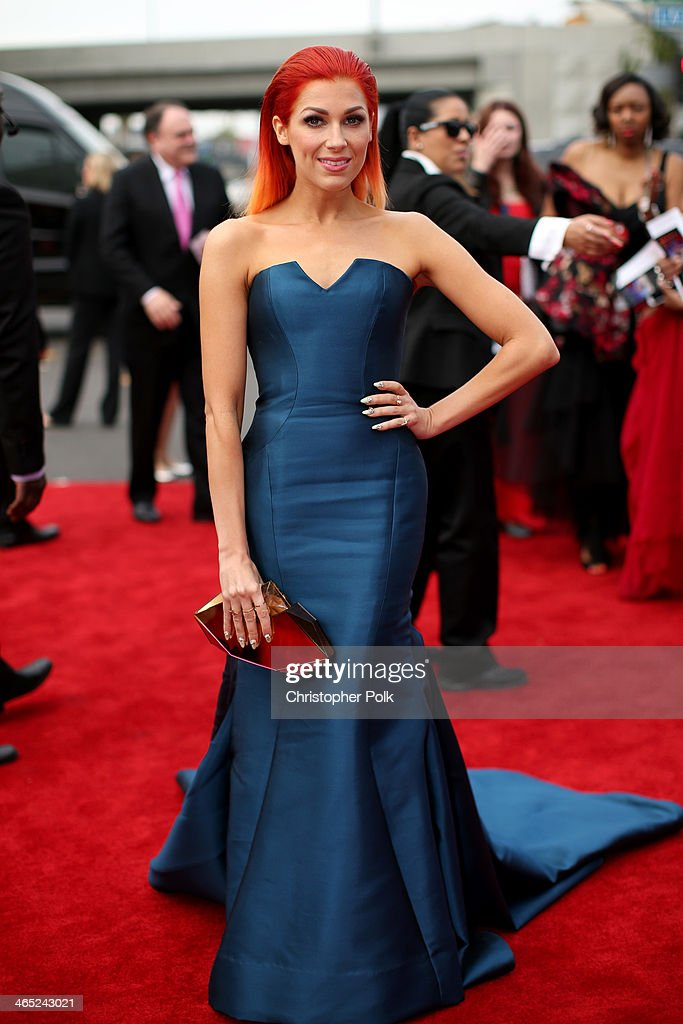 Singer Bonnie McKee attends the 56th GRAMMY Awards at Staples Center on January 26 2014 in Los Angeles California