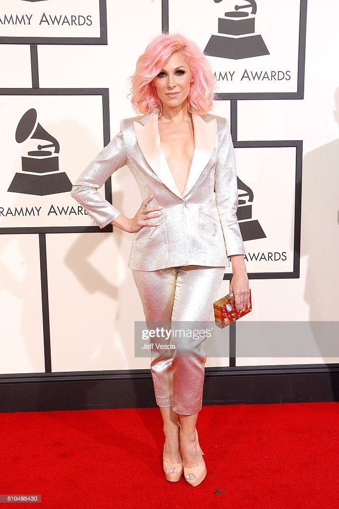 Singer Bonnie McKee attends The 58th GRAMMY Awards at Staples Center on February 15 2016 in Los Angeles California