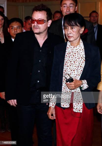 Rock Stars Geldof and Bono Damn Myanmar's Suu Kyi as ...
