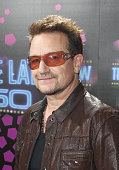 U2 singer Bono attends the 50th Anniversary Of 'The Late Late Show' on June 1 2012 in Dublin Ireland