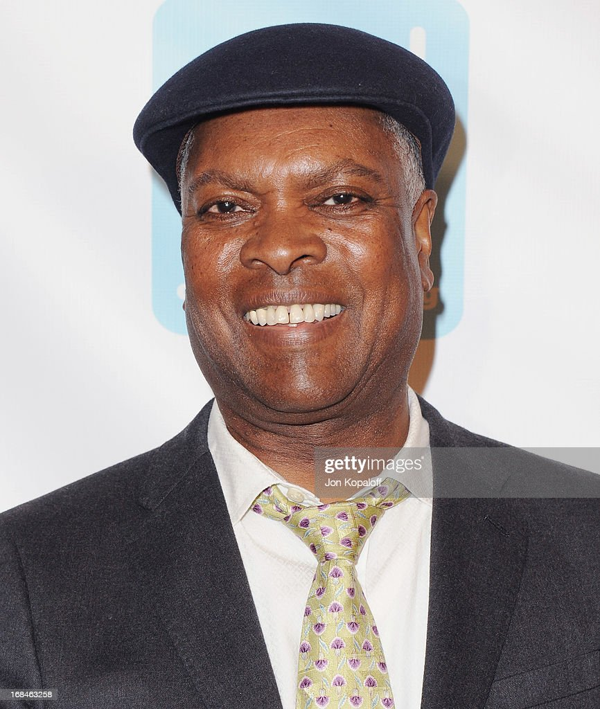 Singer Booker T. arrives at the NARM Music Biz 2013 Awards Dinner Party at the Hyatt Regency Century Plaza on May 9, 2013 in Century City, California.