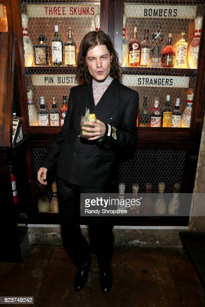 Singer Borns attends his Single Release Event at Highland Park Bowl on July 27 2017 in Los Angeles California