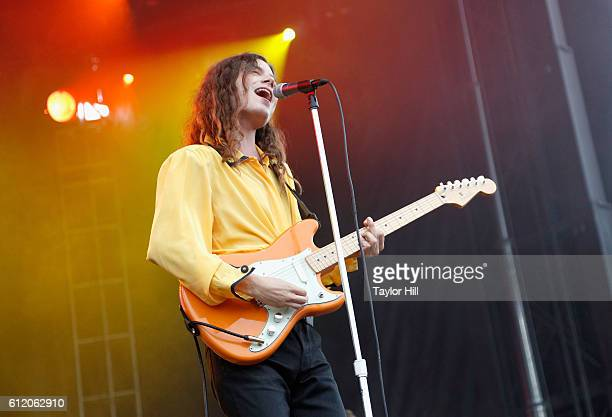 Singer BORNS performs onstage during The Meadows Music Arts Festival Day 2 on October 2 2016 in Queens New York