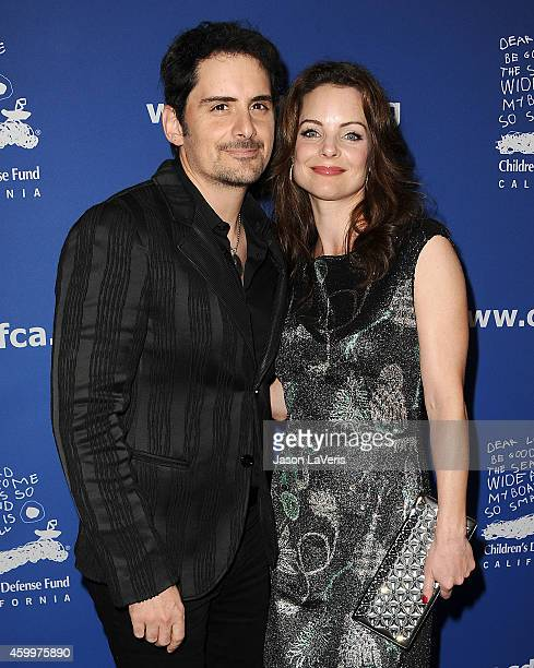 Singer Brad Paisley and actress Kimberly WilliamsPaisley attend Children's Defense Fund's 24th annual Beat The Odds Awards at The Book Bindery on...