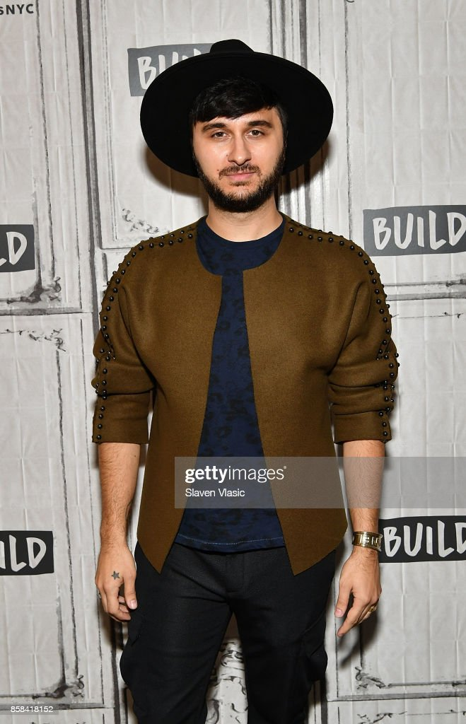 Singer Brad Walsh visits Build to discuss his album 'Antiglot' at Build Studio on October 6, 2017 in New York City.