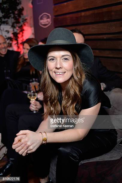 Singer Brandi Carlile attends Red Light Management 2016 Grammy After Party presented by Citi at Mondrian Hotel on February 15 2016 in Los Angeles...
