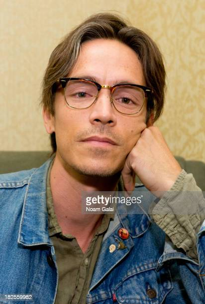 Singer Brandon Boyd of Incubus promotes 'So The Echo' at Barnes Noble Tribeca on September 30 2013 in New York City
