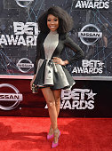 Singer Brandy Norwood attends the 2015 BET Awards at the Microsoft Theater on June 28 2015 in Los Angeles California