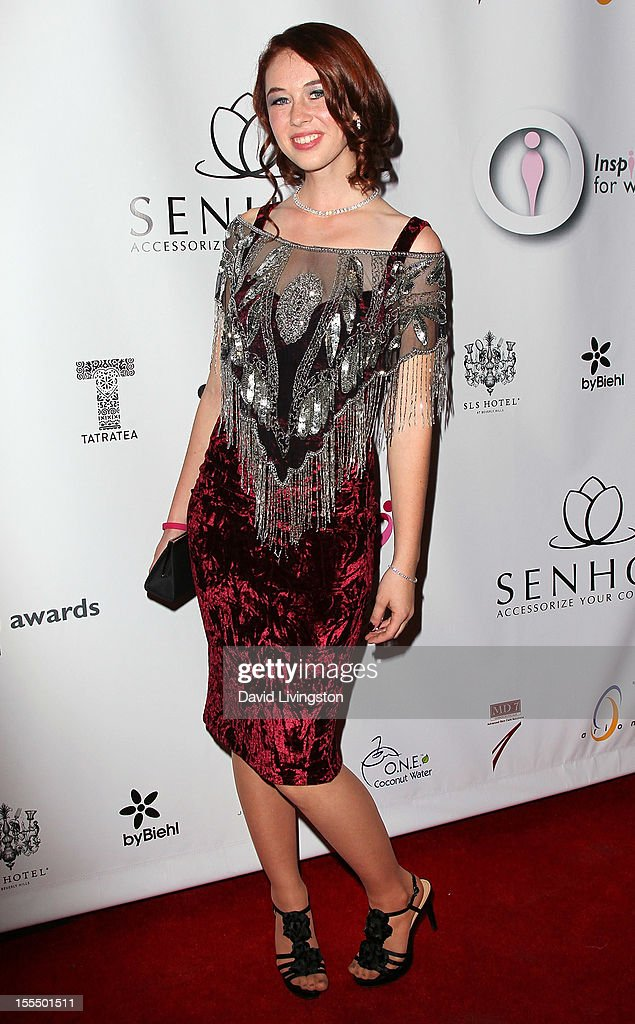 Singer Breanna Lynn attends the 2nd Annual Inspiration Awards to benefit The Susan G. Komen For The Cure at Royce Hall, UCLA on November 4, 2012 in Westwood, California.