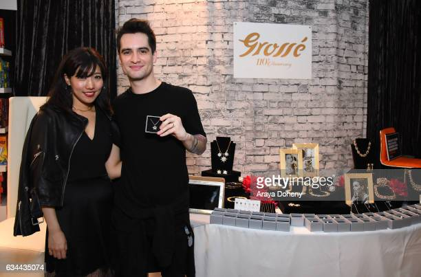 Singer Brendon Urie of Panic at the Disco attends GRAMMY Gift Lounge during the 59th GRAMMY Awards at STAPLES Center on February 9 2017 in Los...
