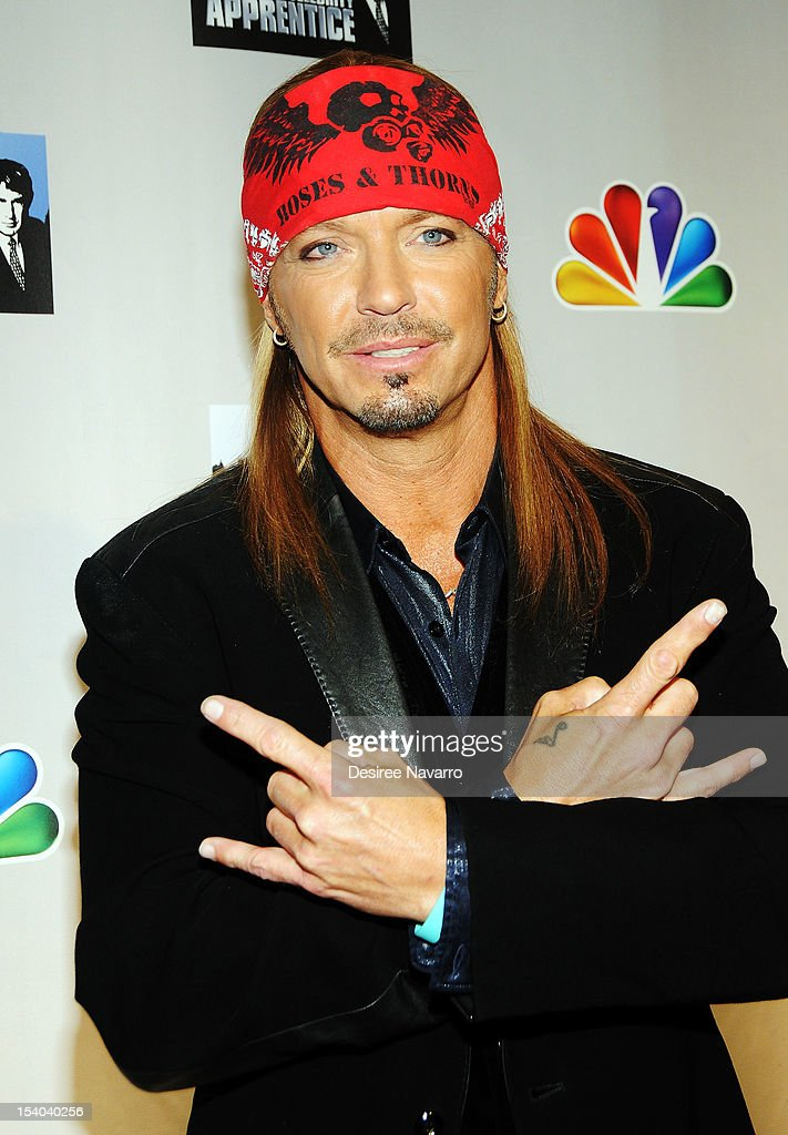 Singer Bret Michaels attends the 'Celebrity Apprentice All Stars' Season 13 Press Conference at Jack Studios on October 12, 2012 in New York City.