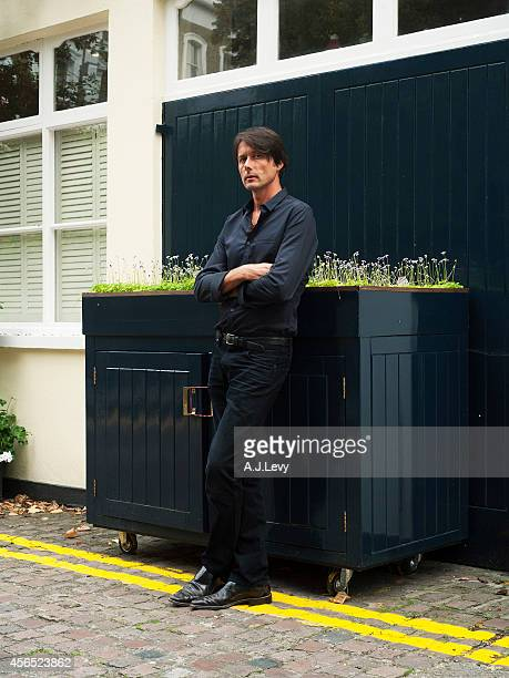 Singer Brett Anderson is photographed for the Independent in London England