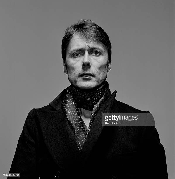 Singer Brett Anderson is photographed for the Independent on April 8 2013 in London England