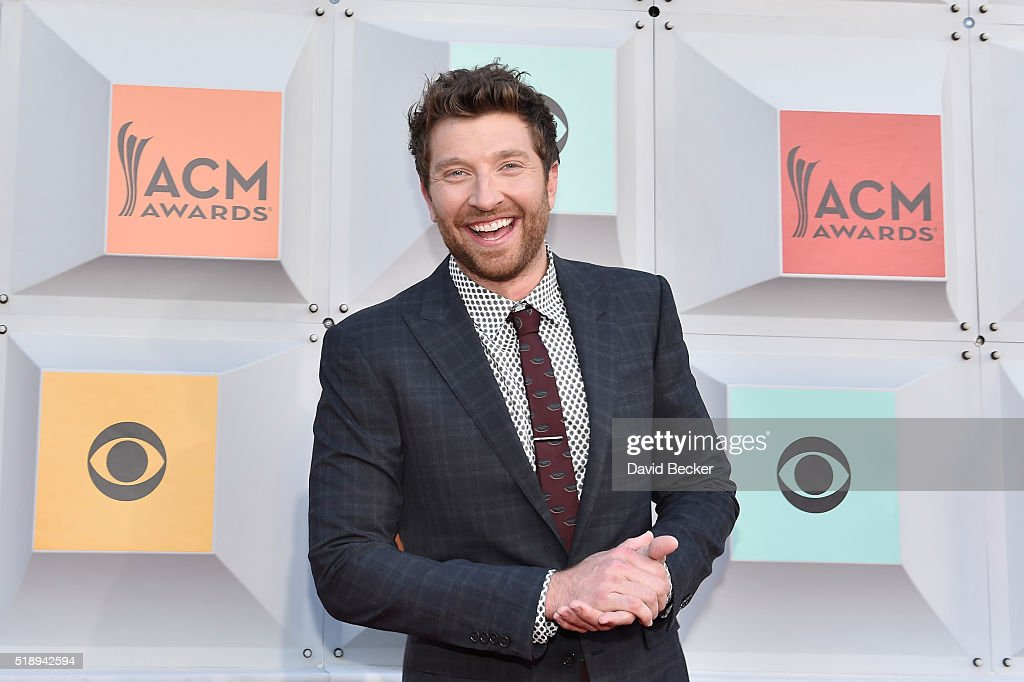 Singer Brett Eldredge attends the 51st Academy of Country Music Awards at MGM Grand Garden Arena on April 3 2016 in Las Vegas Nevada