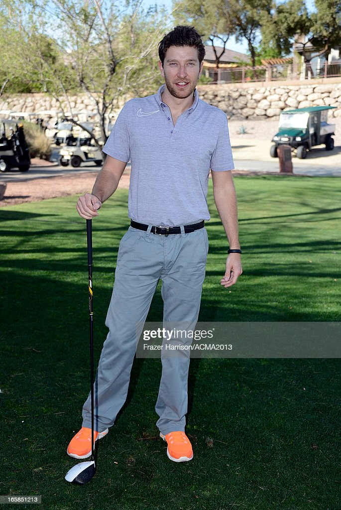 Singer Brett Eldredge attends the ACM Lifting Lives Celebrity Golf Classic during the 48th Annual Academy of Country Music Awards at TPC Summerlin on April 6, 2013 in Las Vegas, Nevada.