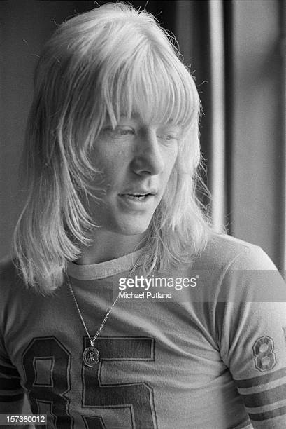 Singer Brian Connolly of British glam rock group The Sweet 12th October 1972