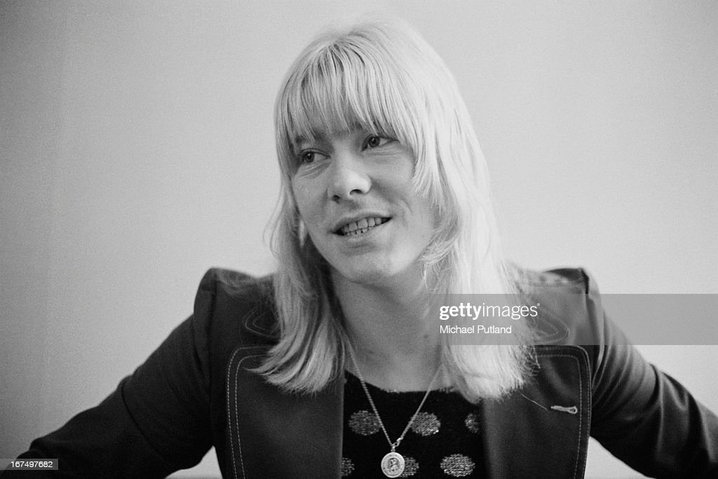 Singer Brian Connolly (1945 - 1997) of British glam rock group The Sweet, 1973.