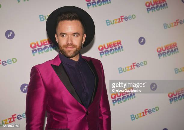Singer Brian Justin Crumb attends Buzzfeed hosts the 1st Inaugural Queer Prom for LGBT Youth in Los Angeles at Siren Studios on May 13 2017 in...