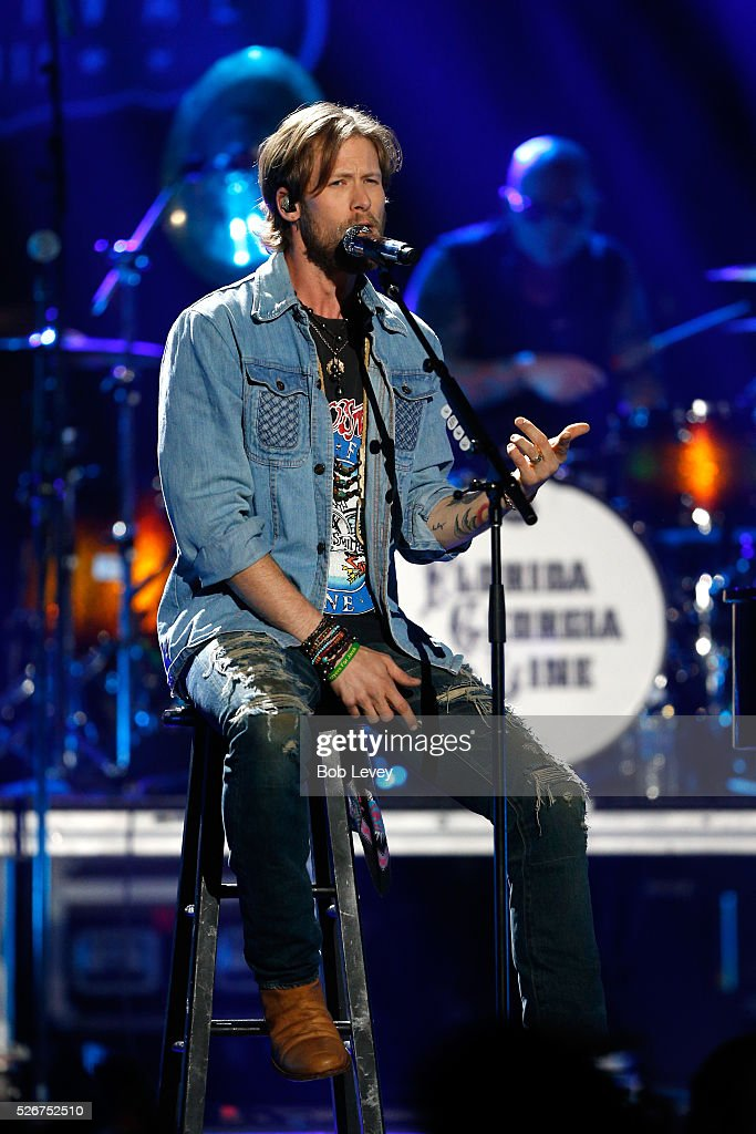 Singer Brian Kelley of Florida Georgia Line performs onstage during the 2016 iHeartCountry Festival at The Frank Erwin Center on April 30, 2016 in Austin, Texas.