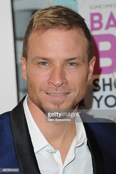 Singer Brian Littrell of the Backstreet Boys attends the premiere of Gravitas Ventures' 'Backstreet Boys Show 'Em What You're Made Of' at ArcLight...