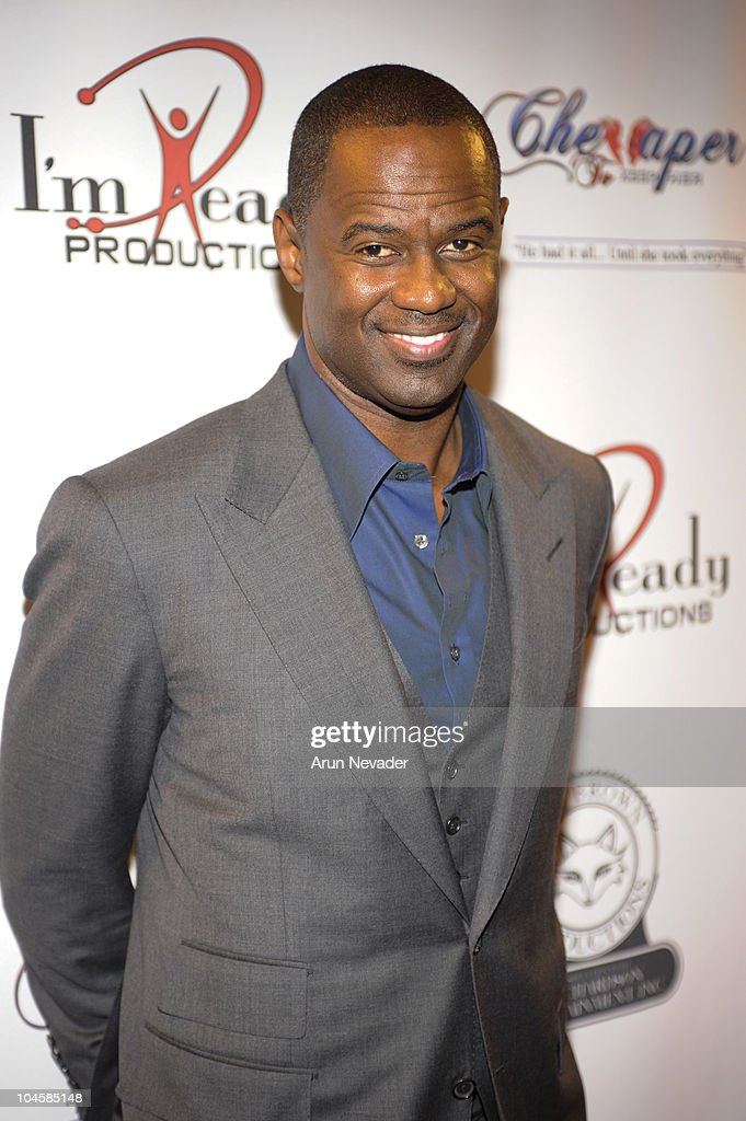 Singer <a gi-track='captionPersonalityLinkClicked' href=/galleries/search?phrase=Brian+McKnight&family=editorial&specificpeople=206619 ng-click='$event.stopPropagation()'>Brian McKnight</a> appears at the Vivica A. Fox & <a gi-track='captionPersonalityLinkClicked' href=/galleries/search?phrase=Brian+McKnight&family=editorial&specificpeople=206619 ng-click='$event.stopPropagation()'>Brian McKnight</a> Performance of 'Cheaper To Keep Her' At The Wiltern Theatre on September 30, 2010 in Los Angeles, California.