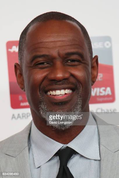 Singer Brian McKnight attends the AARP's 16th Annual Movies for Grownups Awards at the Beverly Wilshire Four Seasons Hotel on February 6 2017 in...