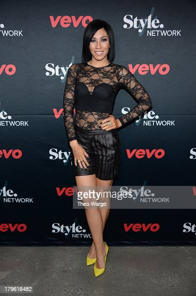 Singer Bridget Kelly attends the VEVO and Styled To Rock Celebration Hosted by Actress Model and Styled to Rock Mentor Erin Wasson with Performances...